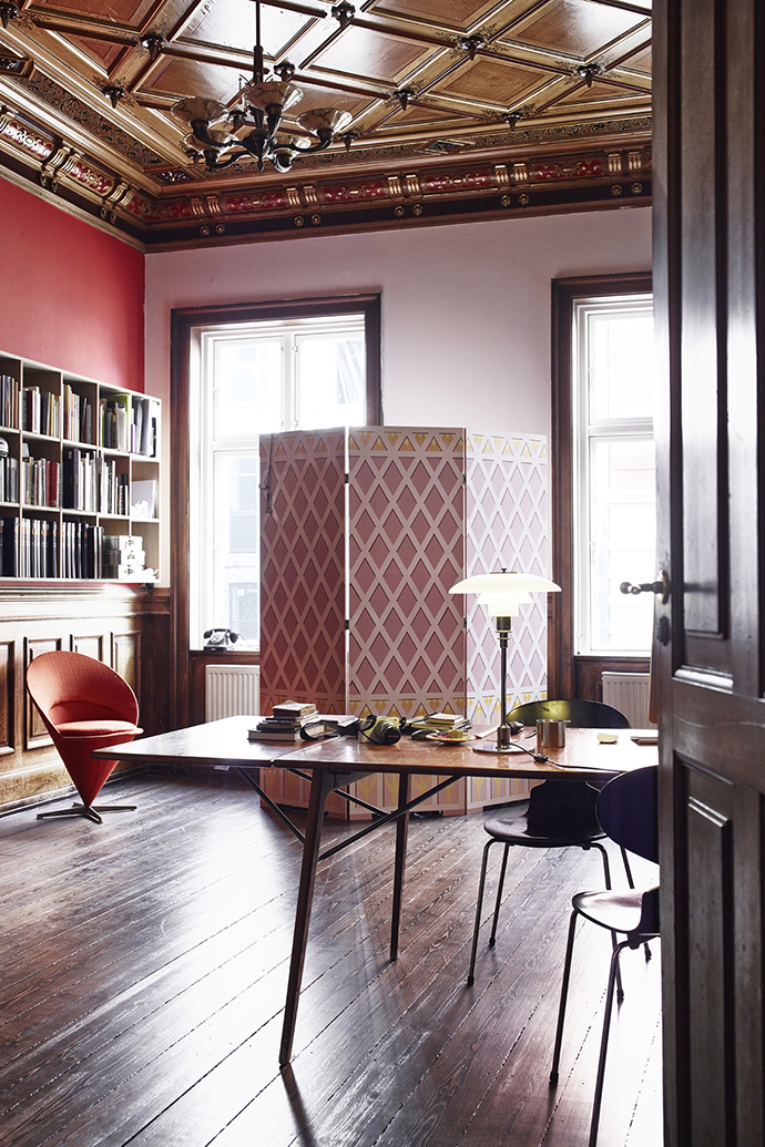 Кабинет квартиры в Копенгагене