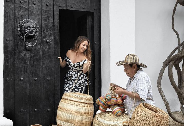 В гостях у колумбийского фэшн-дизайнера Хоанны Ортис (фото 0)