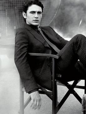Джеймс Франко в новой фотосессии Gucci