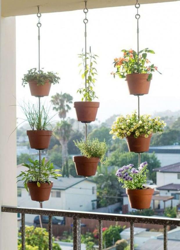 Лето в городе: 15 идей для уютного балкона (фото 7)