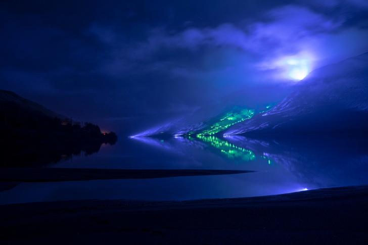 Северное сияние: световое шоу художника Кари Колы (фото 6)