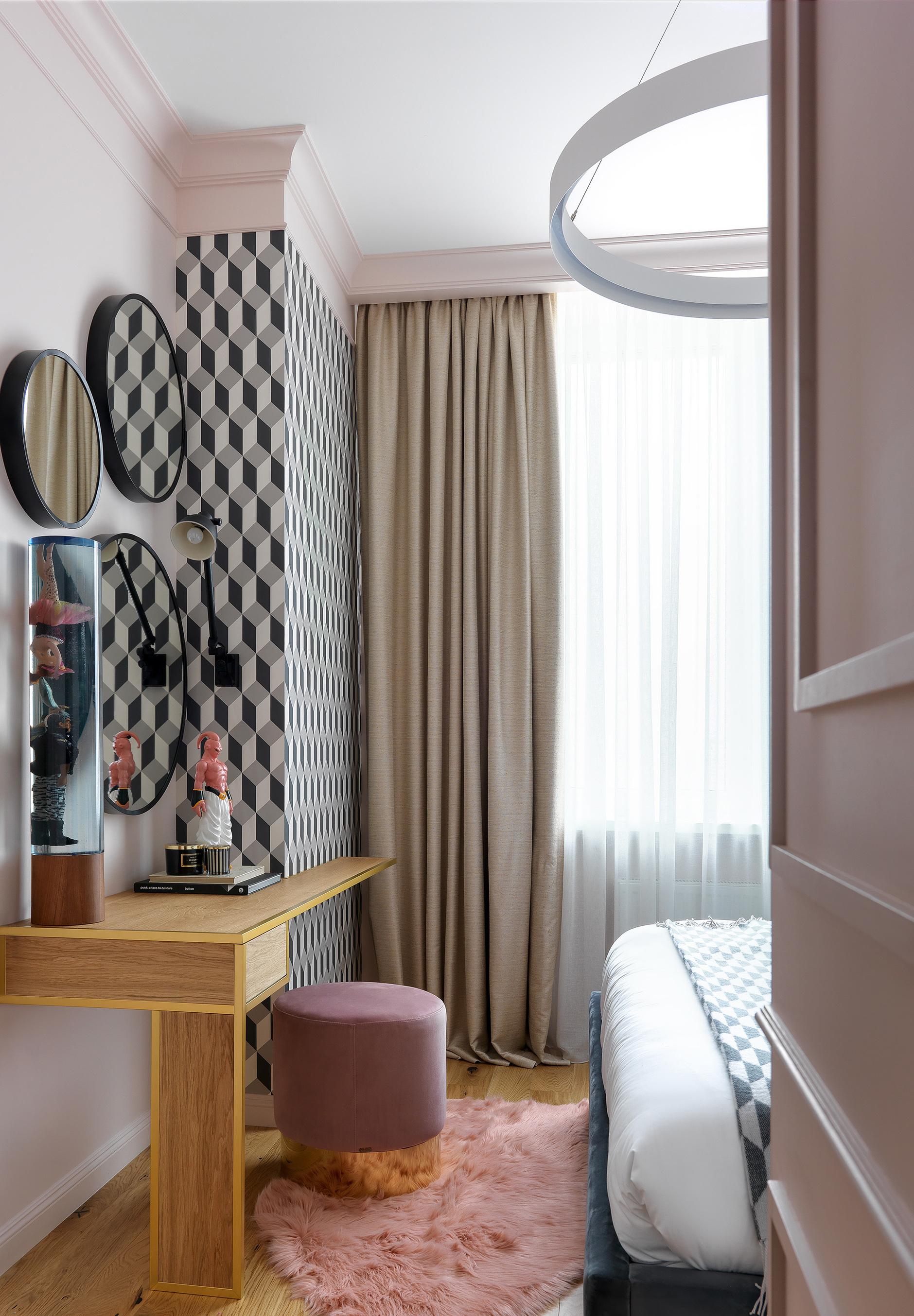 Туалетный столик в спальне: 20+ примеров (галерея 1, фото 3)
