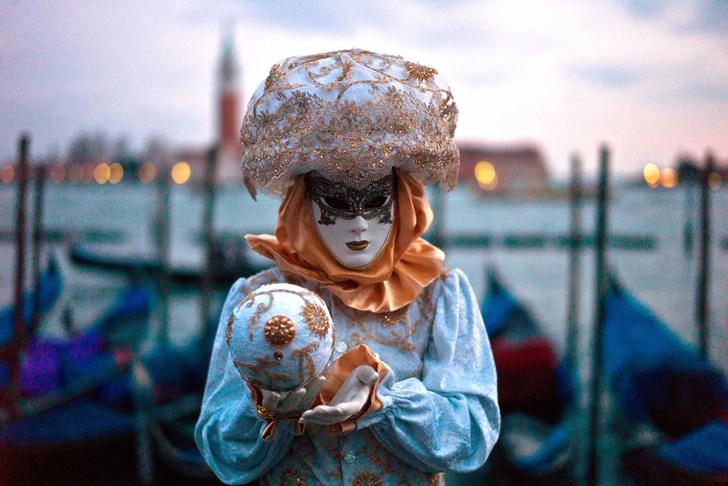 Карнавал в Венеции, Италия