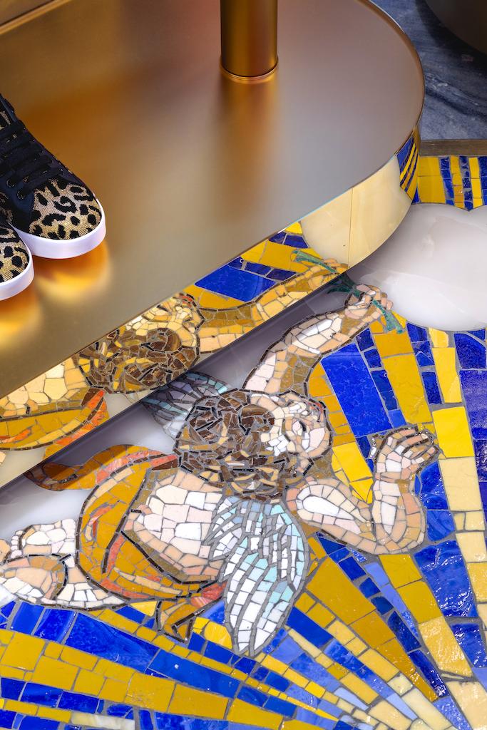 Экстравагантный бутик Dolce&Gabbana в Риме (галерея 14, фото 4)