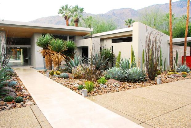 Сады в стиле mid-century modern (фото 0)