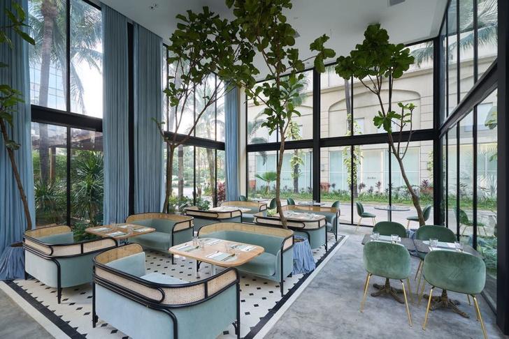 Дом из стекла: ресторан по дизайну Gamfratesi в Маниле (фото 0)