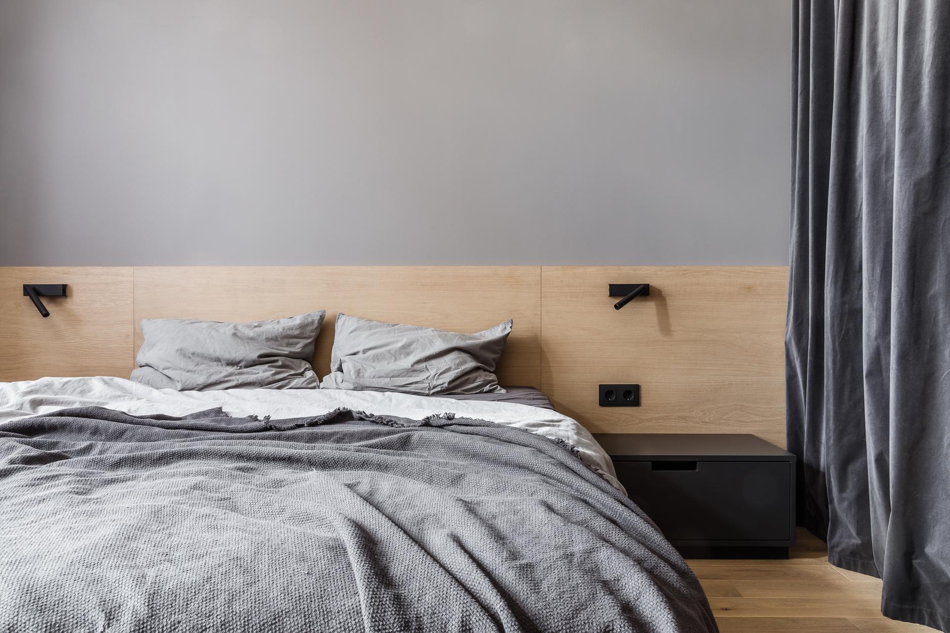 Низкая кровать: 30+ примеров для спальни (галерея 2, фото 4)