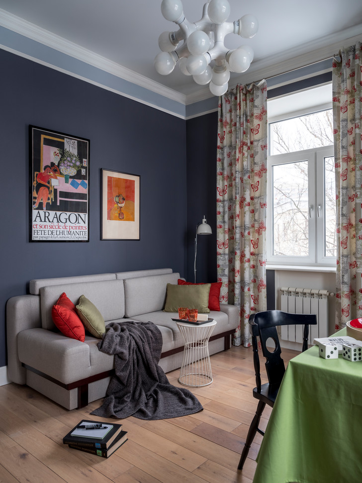 Двухкомнатная квартира 56 м² в сталинском доме (фото 11)