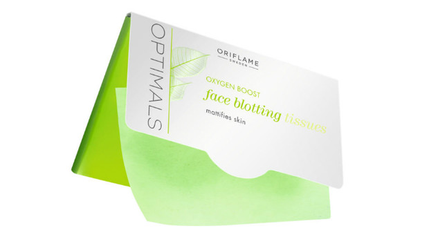 Матирующие салфетки от Oriflame