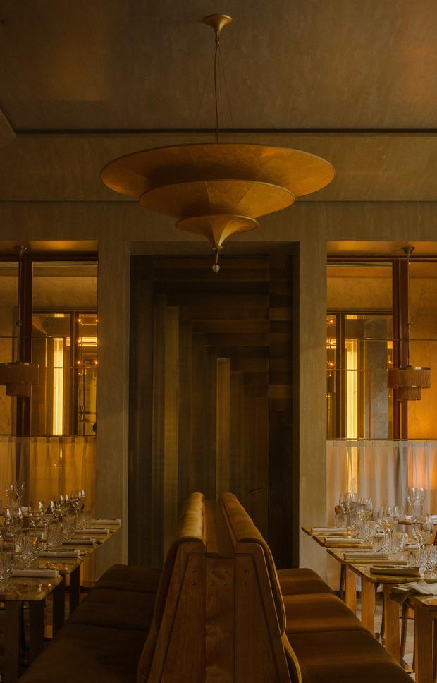 Ресторан Nolinski с элементами ар-деко (фото 6)
