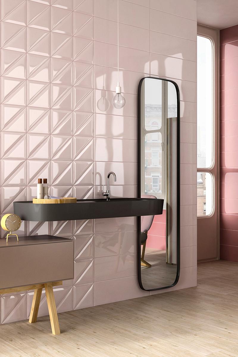 Интерьер в стиле розового цвета