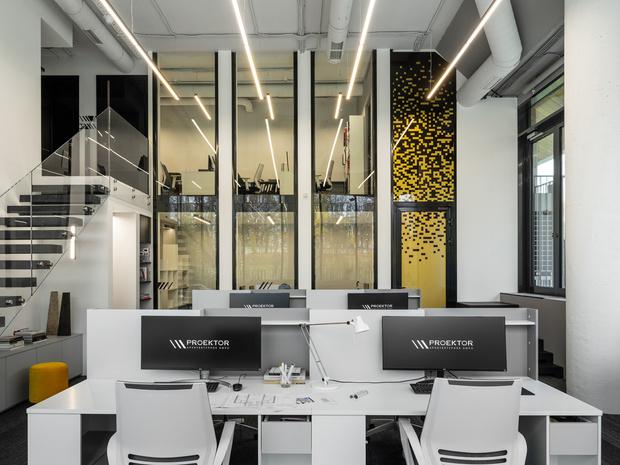 Яркий офис архитектурного бюро Proektor (фото 13)