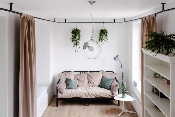 Квартира 33 м²: модный интерьер для молодой девушки от buro5 (фото 7)