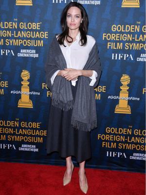 Синяя птица: новый выход Анджелины Джоли (фото 1)
