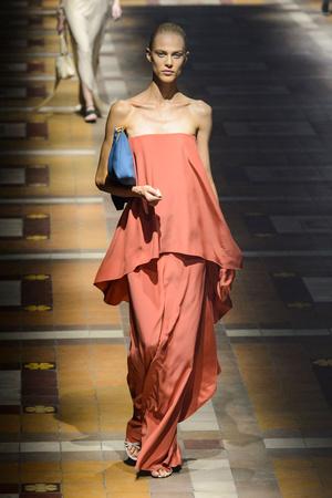 Показы мод Lanvin Весна-лето 2015 | Подиум на ELLE - Подиум - фото 4180