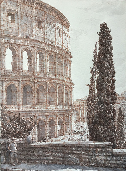 Открывается выставка работ Максима Атаянца | галерея [1] фото [1]