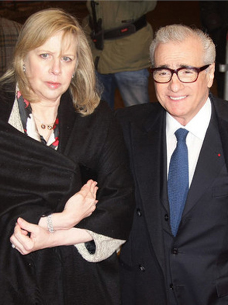 Мартин Скорсэзе с женой