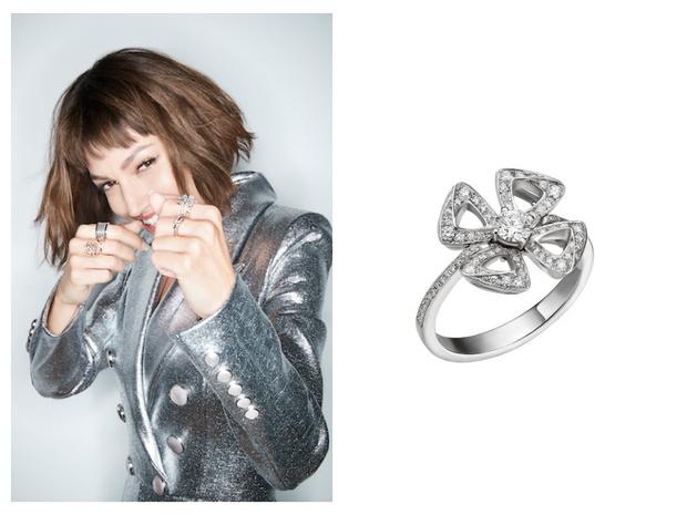 Что нужно знать про бриллиантовые цветы   Bvlgari и как их носить (фото 4)