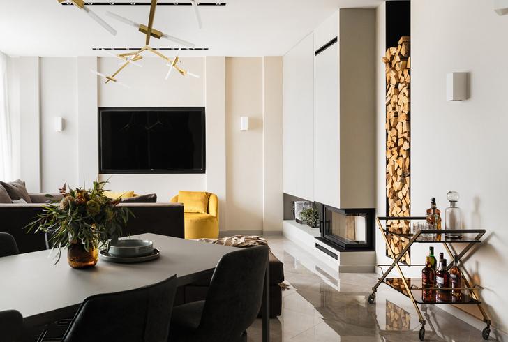 Солидная квартира 123 м² с яркими деталями (фото 15)