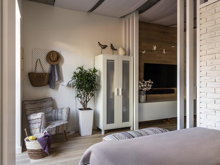 Студия 37 м² в скандинавском стиле (фото 12)