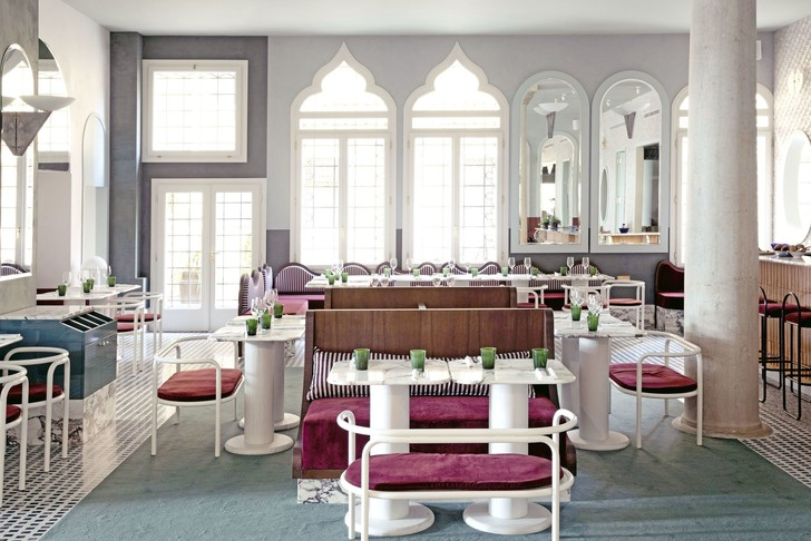 Ресторан Adriatica по дизайну Доротеи Мейлихзон в Венеции (фото 0)