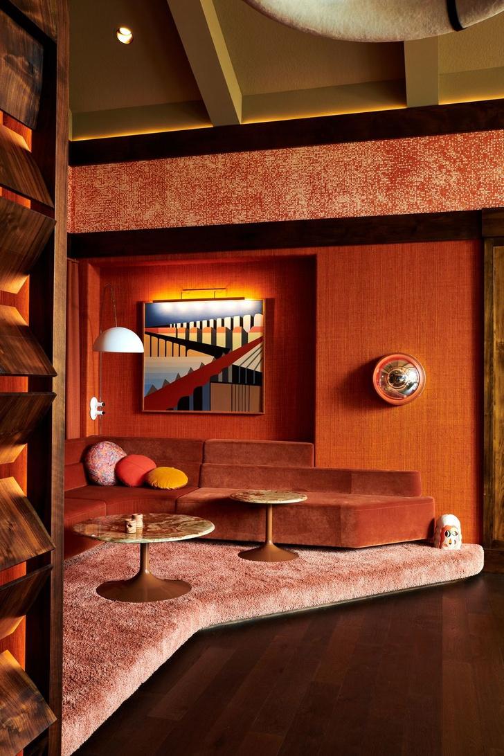 Квартира в стиле 70-х (фото 7)