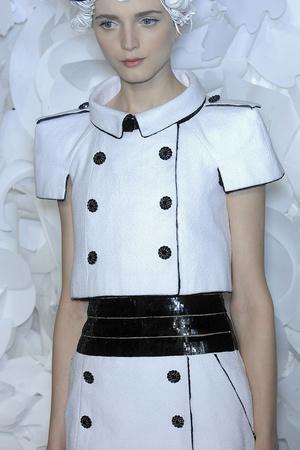 Показ  коллекции сезона Весна-лето 2009 года Haute couture - www.elle.ru - Подиум - фото 86311