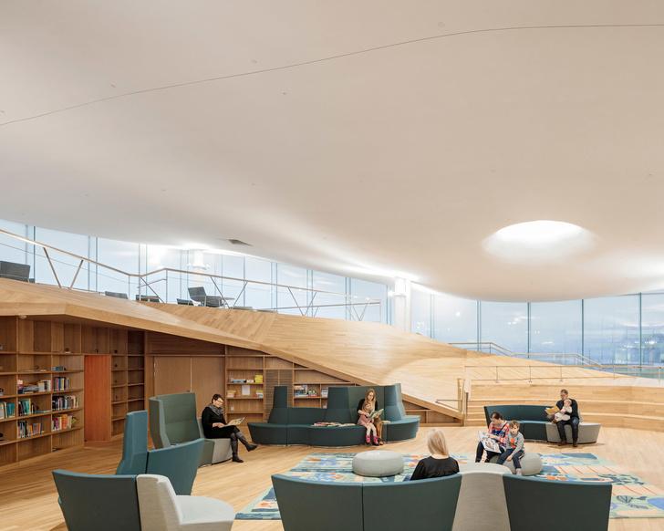Книжный рай: библиотека в Хельсинки (фото 8)