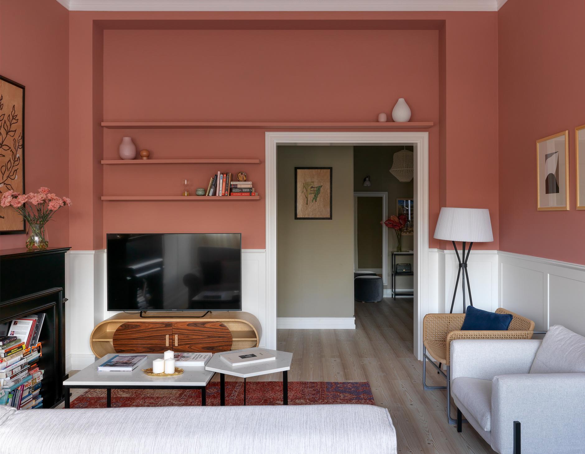 Терапия цветом: 40 проектов ярких гостиных (галерея 1, фото 1)