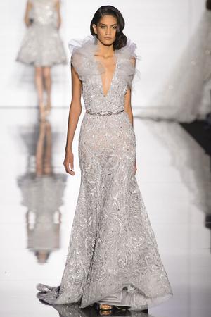 Показ Zuhair Murad коллекции сезона Весна-лето 2015 года Haute couture - www.elle.ru - Подиум - фото 593250