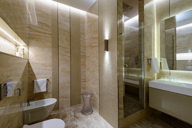 Современная квартира 176 м² в Новосибирске (фото 22)