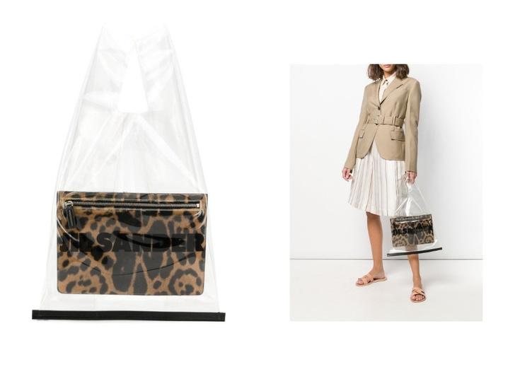 Transparent spring: прозрачная сумка Jil Sander (фото 1)