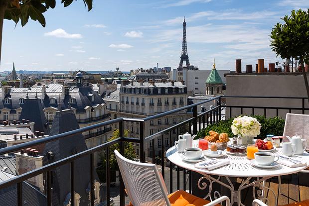 Круассаны в постель: 5 парижских отелей с образцовыми завтраками (фото 49)