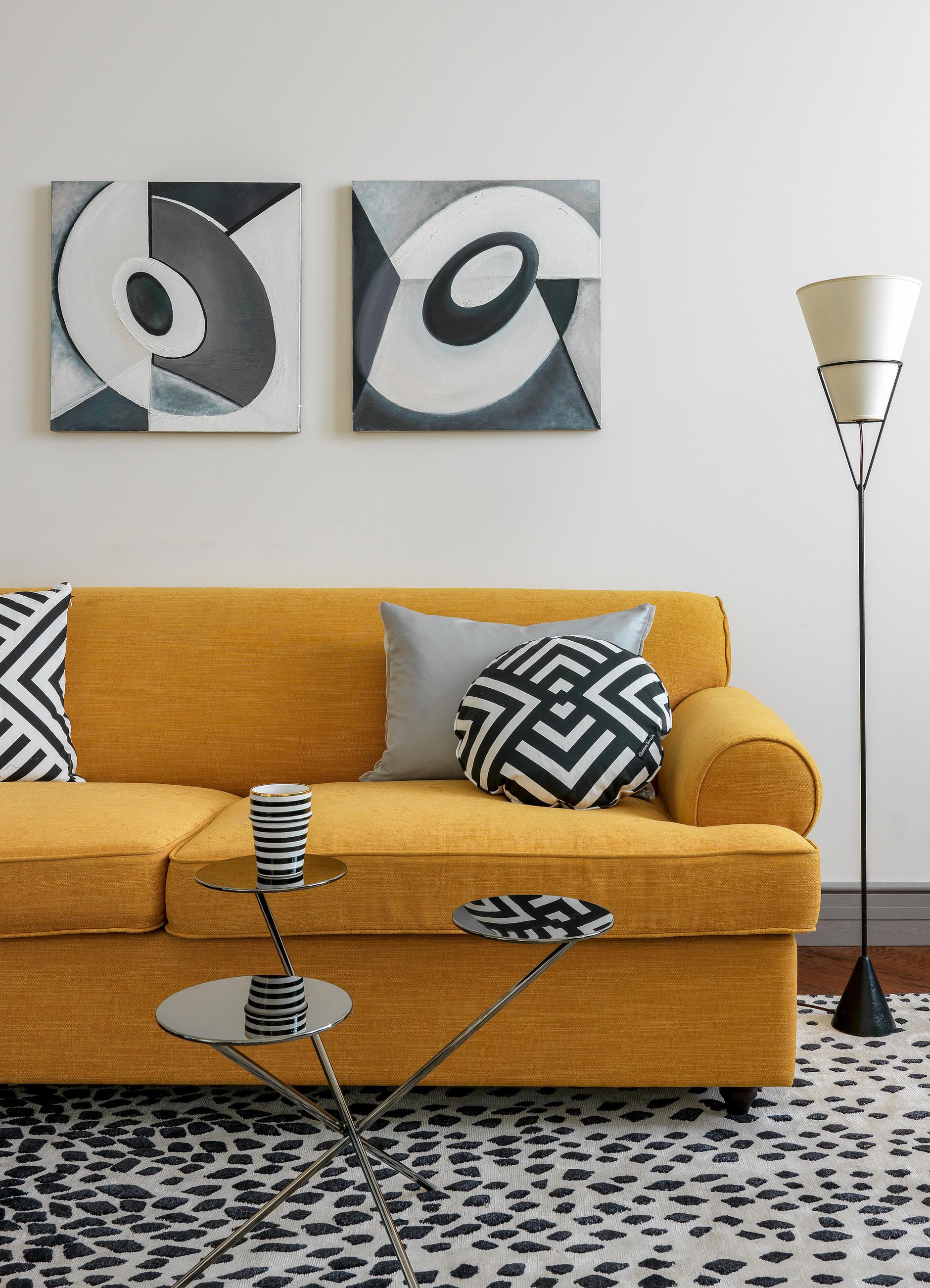 Желтый цвет в интерьере: 15 идей (галерея 0, фото 4)