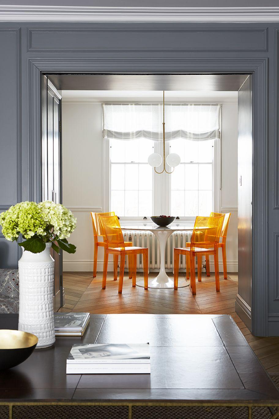 Прозрачные стулья в интерьере: 20+ примеров (галерея 1, фото 18)