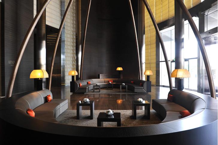 Armani Hotel Dubai Самый лучший отель в Дубае