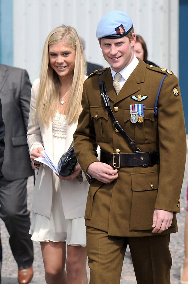 Принц Гарри и Челси Дэви