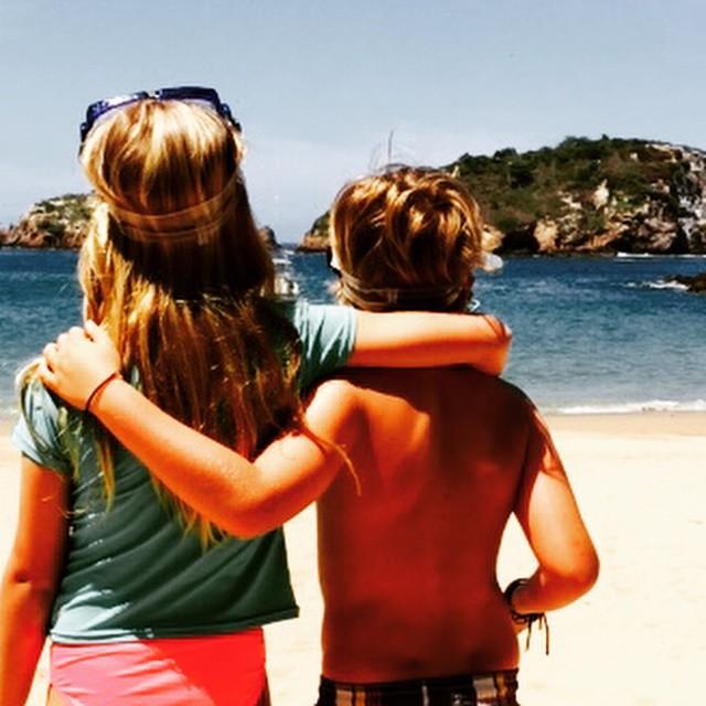 Звездный Instagram: весенние каникулы