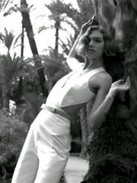 Аризона Мьюз в рекламной кампании Yves Saint Laurent