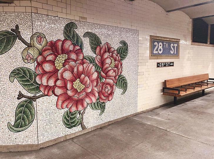 Нэнси Блум украсила мозаикой нью-йоркскую подземку (фото 2)