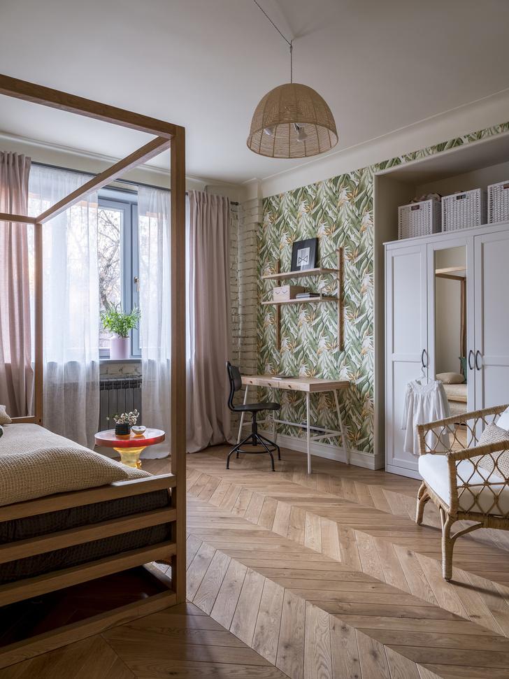 Московская квартира 60 м² с элементами лофта (фото 17)