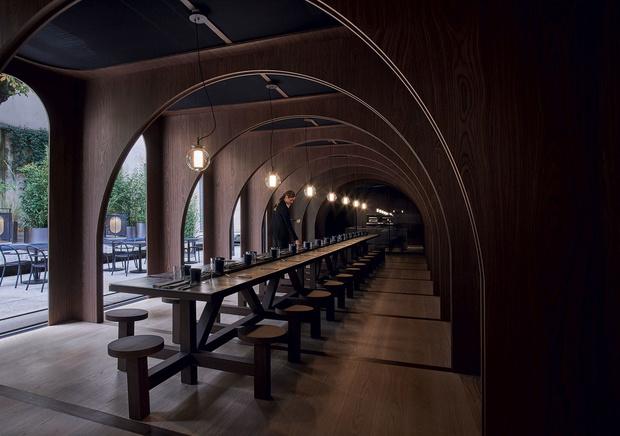 Pop-up ресторан в Милане от Neri & Hu (фото 6)