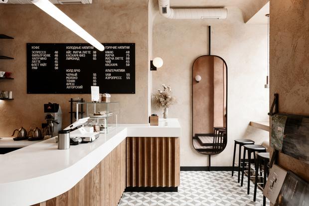 Бежевая кофейня в Одессе (фото 3)