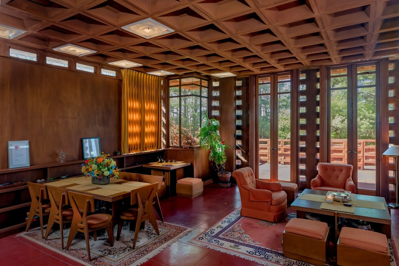 5 домов Фрэнка Ллойда Райта, которые можно купить прямо сейчас (галерея 16, фото 3)
