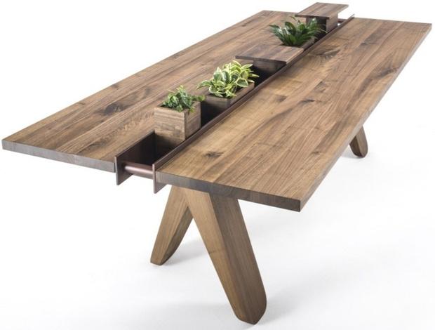 Кашпо и мебель для домашних растений (фото 7)