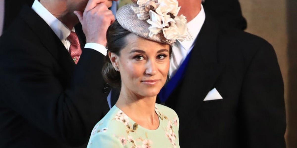 Беременная Пиппа Миддлтон на свадьбе принца Гарри и Меган Маркл