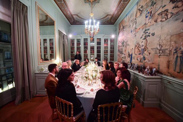 Сальма Хайек, Леа Сейду, Ума Турман и другие на ужине Boucheron (фото 3)