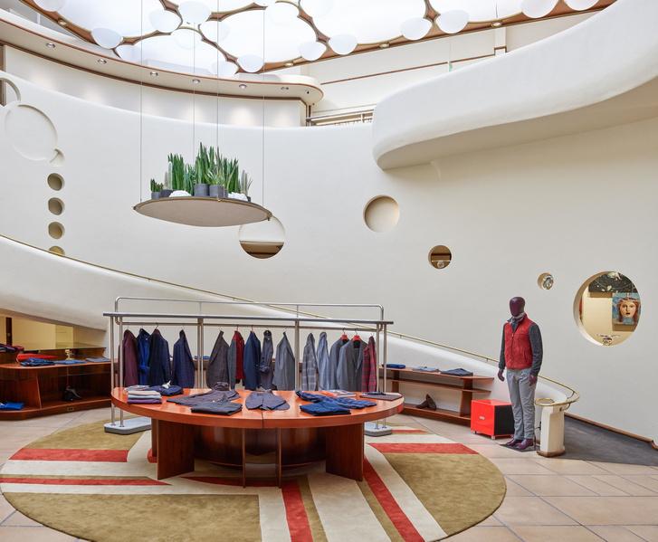 Мода и архитектура: бутик Isaia в здании Фрэнка Ллойда Райта (фото 0)
