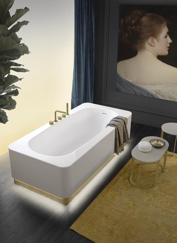 Топ 12: освещение в ванной. Мебель, зеркала, душевые лейки и ванны со встроенной подсветкой (фото 1)