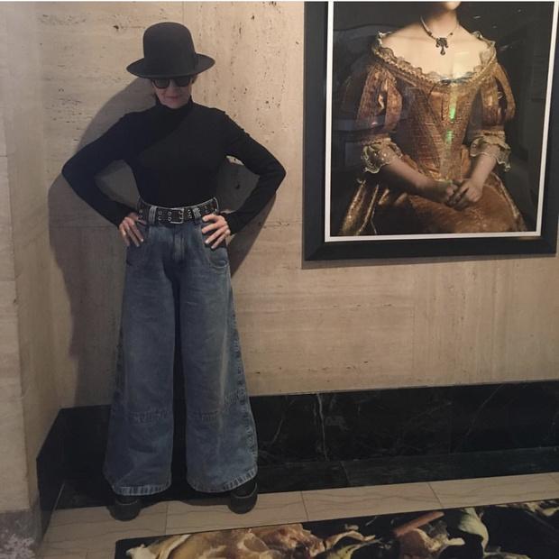 Почему все звезды обсуждают джинсы Дайан Китон? (фото 1)